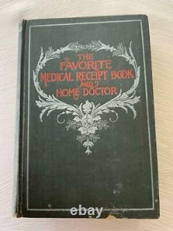 Rare 1904 Herbal Medicine Herbs Medical Cures Anatomy Homeopathic Antique