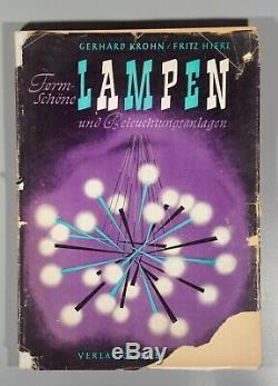 Rare 1950s Krohn Lighting and lampen arredoluce fog morup stilnovo Louis Poulsen