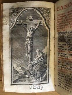 Rare Antique 1765 Missale Romanum Roman Catholic Prayer Book Missal Latin