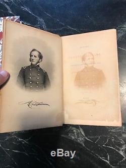 Rare Antique 1864 History Duryees Brigade Civil War Book Franklin Hough Signed