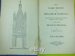 Rare Antique 1884 The Early History And Antiquities Of Freemasonry George F Fort