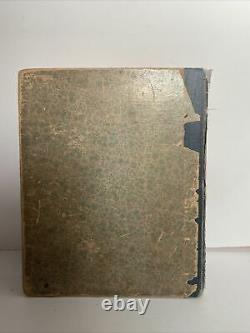 Rare Antique 1890 Grimms Household Fairy Tales Illustrated (R. Andre)- Hardcover