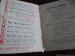 Rare Antique 1895 The Photographic Times London Magazine / Photos/ Advertising /