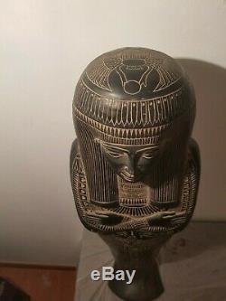 Rare Antique Ancient Egyptian Huge Ushabti Museum Quality Book Dead1860-1880BC