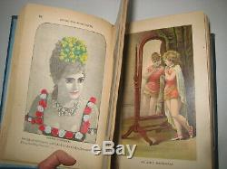 Rare Antique Book Circus & Theater Life Pantomime Black Art Magic Opera Color