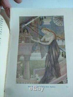 Rare Antique Book Egyptian Gods & Heroes Ancient Kings Ra Isis Egypt Pyramids