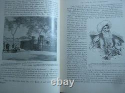 Rare Antique Book Palestine Holy Land Jerusalem Egypt Kings Crusades Pagans +
