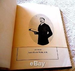Rare Antique Book The Black Man Father Of Civilization Proven By Webb 1910