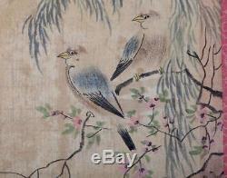 Rare Antique Chinese Hand Painting Landscape Book Marked HuangShanShou KK499