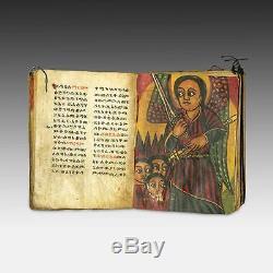 Rare Antique Coptic Bible Book Ge' Ez Script Vellum Ethiopia East Africa 18th C
