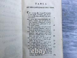 Rare Antique Don Quixote 1778 Leather Ibarra Edition in Spanish