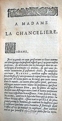 Rare Antique French 17th Century Book Office de la Semaine Sainte Paris