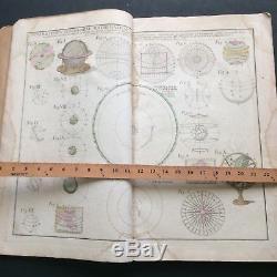Rare Antique Homann World Atlas Scholasticus 31 Maps Original Colors 1750