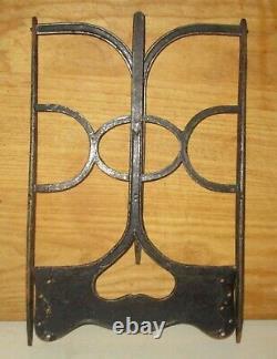 Rare Antique L. A. Moulton Cast Iron Book Stand Pat. Sep 28, 1875