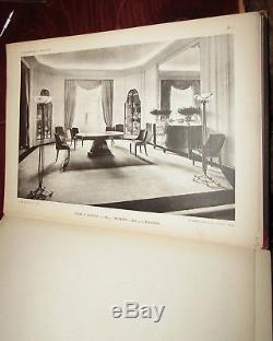 Rare Art Deco Modern Book A. Frechet, Interieurs Modernes, Mobilier Et Decoration