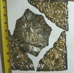 Rare Book Covers Huge Silver 84. For the Gospel Imperial Russia Moscow 1867