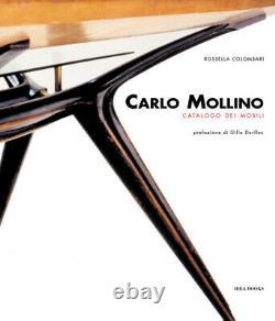 Rare Carlo MOLLINO Italian Design Book 1950's Mid Century Modern Eames Gio Ponti