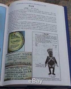 Rare Deans Rag Book SAM PICKITOOP Doll made 1 Year Only 1936