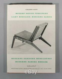 Rare Esbjorn Hiort Mobilier Modern Danois Modern Danish Furniture wegner juhl