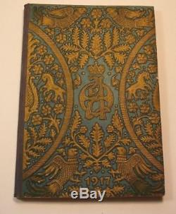 Rare Faberge Imperial Russian Silver 84+Solid Gold+Royal Book Signed