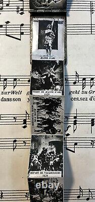 Rare French Antique Souvenir Photos Pendant / Book Joan of Arc c. 1910