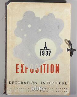 Rare Greber Exposition 1937 Decoration Interieure Aalto Royere Arbus Sognot
