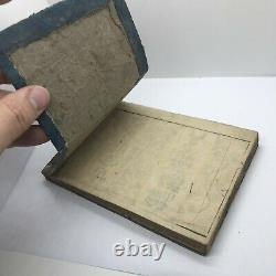 Rare Japanese Genroku Era Book Circa 1697 Woodblock Print Manuscript Old B