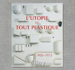 Rare L'UTOPIE Space Age Design Book. Mid Century Modern 60s 70s Verner Panton