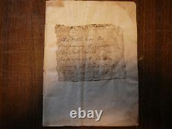Rare Leaf From A Bible Used By Queen Elizabeth 1556 And Oak Joint Stool