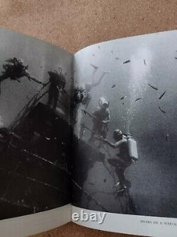 Rare Scuba Diving Book Cousteau Tailliez Dumas French Navy Military