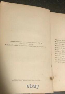 Rare Set! Antique Little Women Part First And Second-Louisa M. Alcott-1881