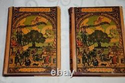 Rare Soviet 1931-1932 Russian fairy tales in 2 volumes, Academia book