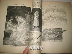 Rare Victorian Book Home Decor Games Etiquette Dress Housekeeping Jobs 4 Women
