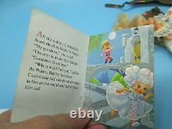 Rare Vintage Liddle Kiddles Cinderella Cinderiddle Little Slipper Book Storybook