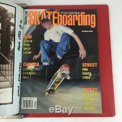 Rare Vintage Transworld skateboarding Magazine Lot of 12 Issues 1990 Volume 8