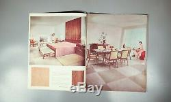 Rare Widdicomb furniture Designed by Robsjohn-Gibbings trade catalogue 1954