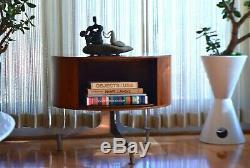 Rare documented Vladimir Kagan book coffee end Table 1957 Mid Century Modern