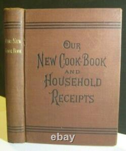 Rarevictorian Antique Cookbook Weird Unusual Recipes Powered Ginger Beer Home