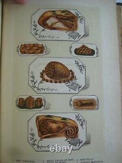Rarevictorian Household Cyclopedia Decor Fancy Work Cookbook Beauty Recipes ++