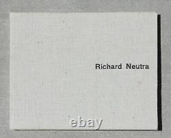 Richard NEUTRA Rare Architecture & Design Book Mid Century Modern Eames 1950s