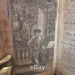SELF KNOWLEDGE John Mason 1793 Rare LEATHER Philosophy SCIENCE History ANTIQUE