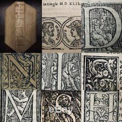 STORIES FROM GNAEUS POMPEIUS TROGUS 1542 Italian Vellum Antique Rare