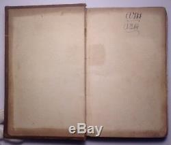 Shipwrecks And Disasters At Sea, Charles Ellms, 1837 Rare Antique Book