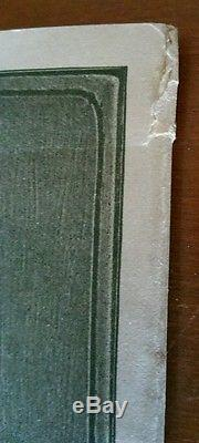 Superb Rare Authentic Very First Rookwood Pottery Booklet Book Pamphlet. 1890's