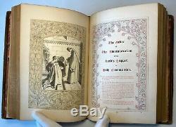 The Book Of Common Prayer, 1850, Illuminated, Vignettes, Borders, Rare Antique