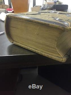 The Holy Bible, RARE X Large, Paralell Column Edition, 1886, Antique, 142yrs old