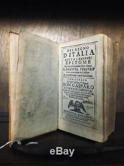 The Kingdom Of Italy Under Barbarian Rule 1667 Rome Fall Antique Old Rare Book