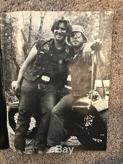 The Real Story Behind The Hells Angels Magazine Rare Vintage Issued 1966