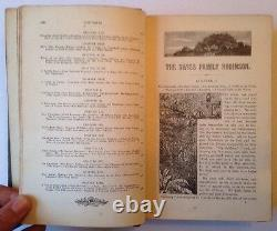 The Swiss Family Robinson, H. Frith, Illustrated Hardback, Rare Antique Book
