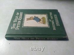 The Tale of Peter Rabbit Vintage Book Rare Beatrix Potter